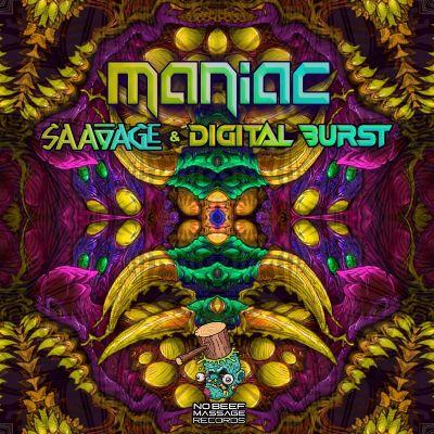 Saavage & Digital Burst — Maniac